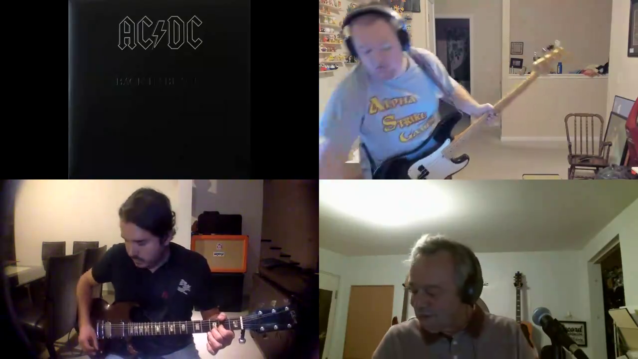 ACDC - Shook Me all night long (Cover)