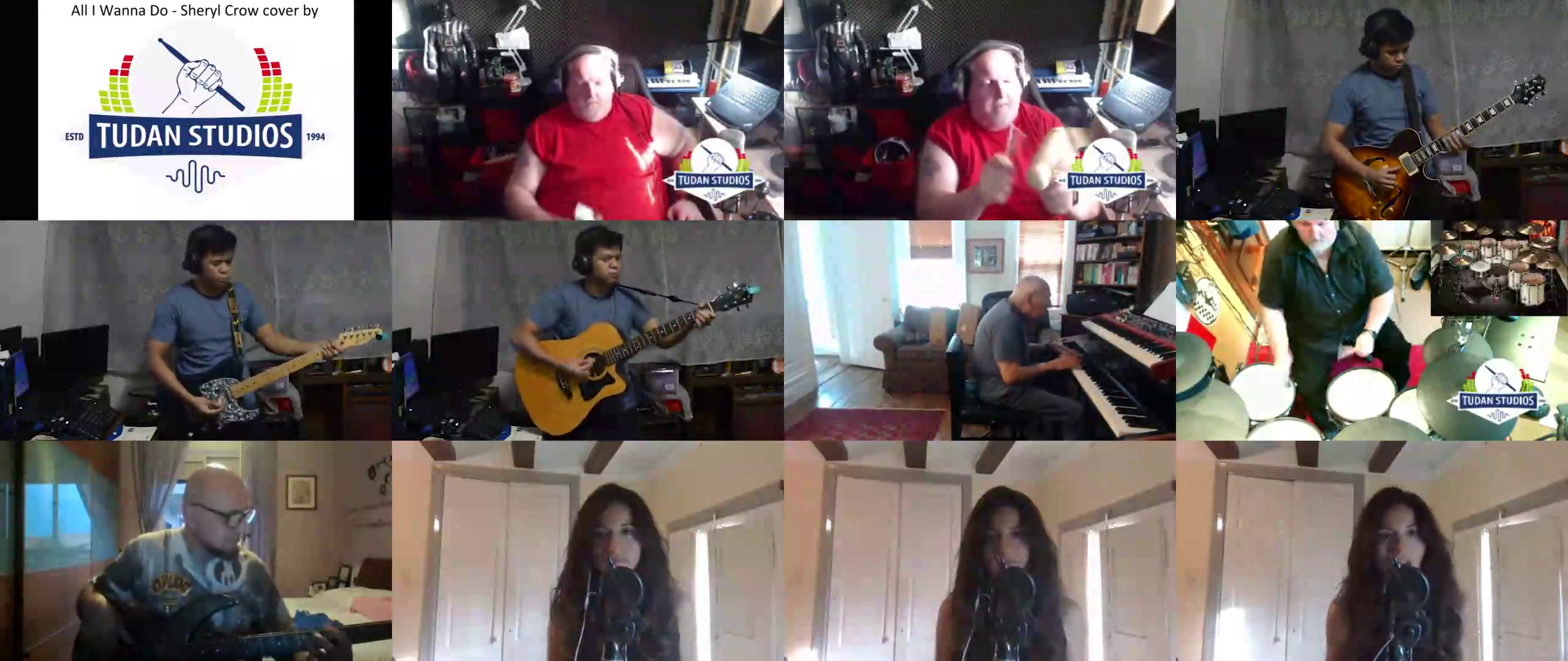 Sheryl Crow - All I Wanna Do cover by Tudanstudios