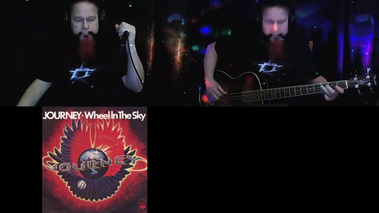 Journey Wheel In The Sky (acoustic) D# tunning