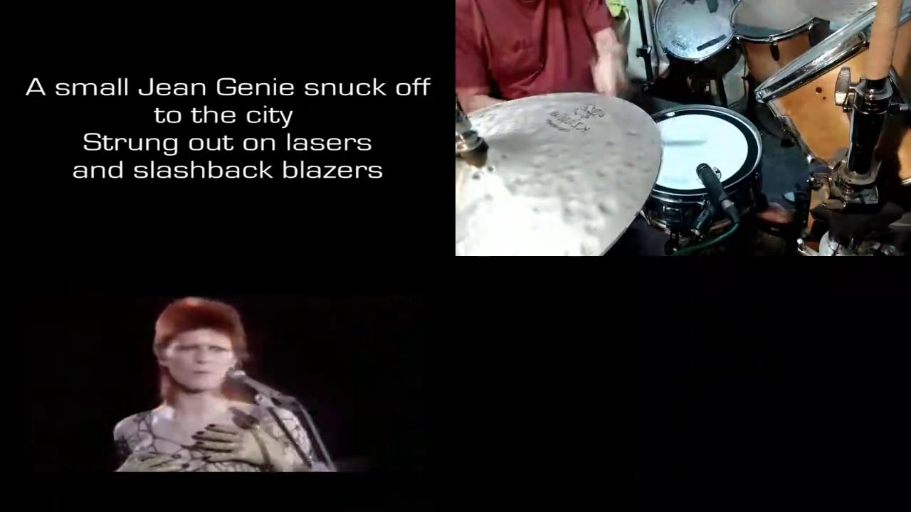 """""""Jean Genie""""  - David Bowie"""